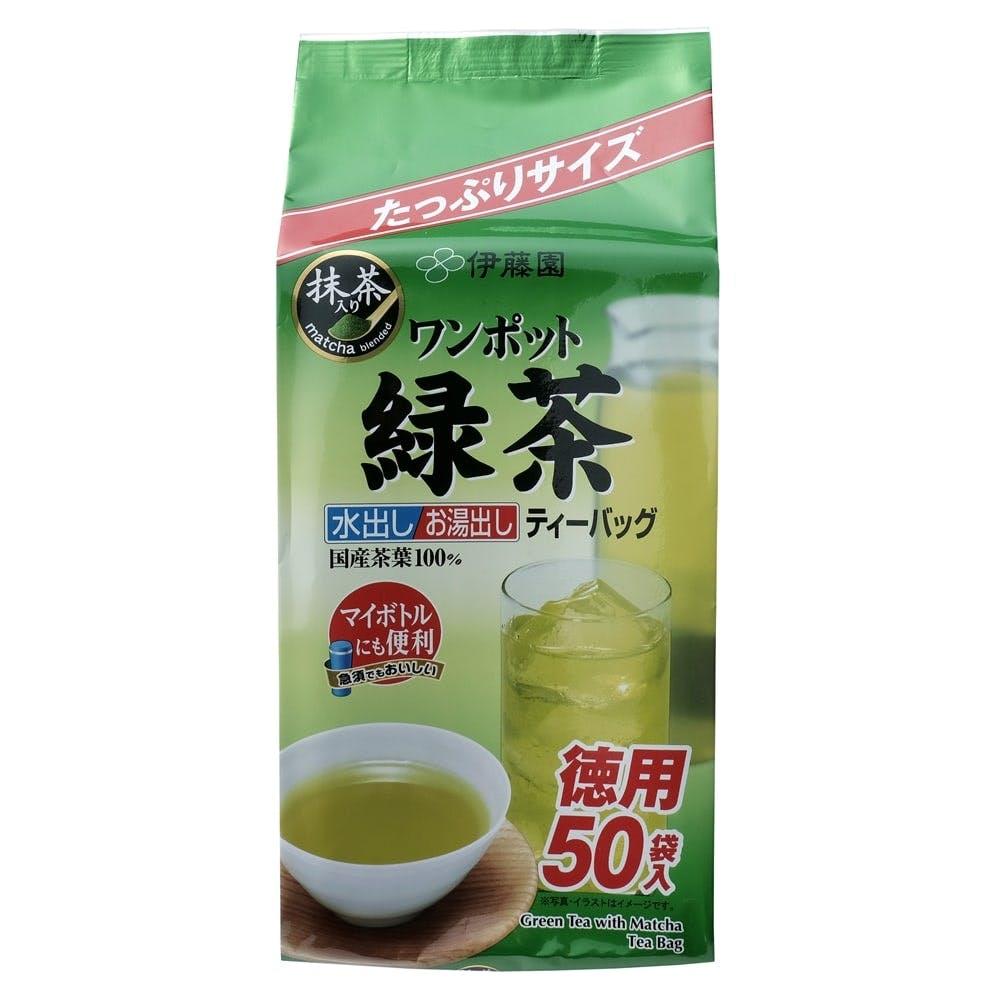 伊藤園 ワンポット緑茶 ティーバッグ 50袋入, , product