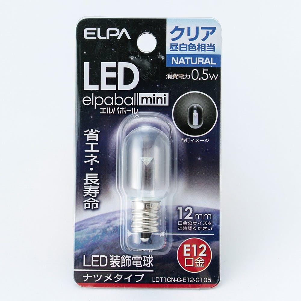 LEDナツメ球 E12C LDT1CN-12G105, , product