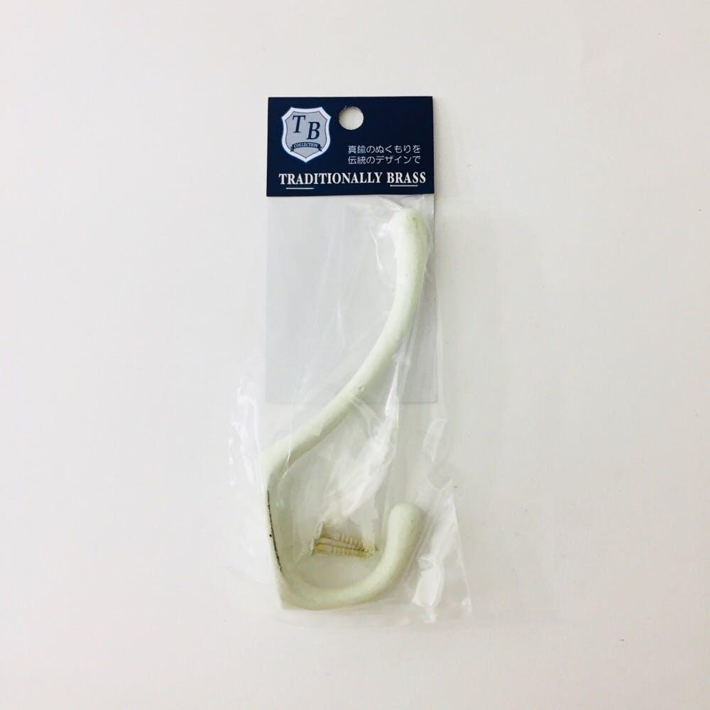 4-215 アンティークフック L ホワイト, , product