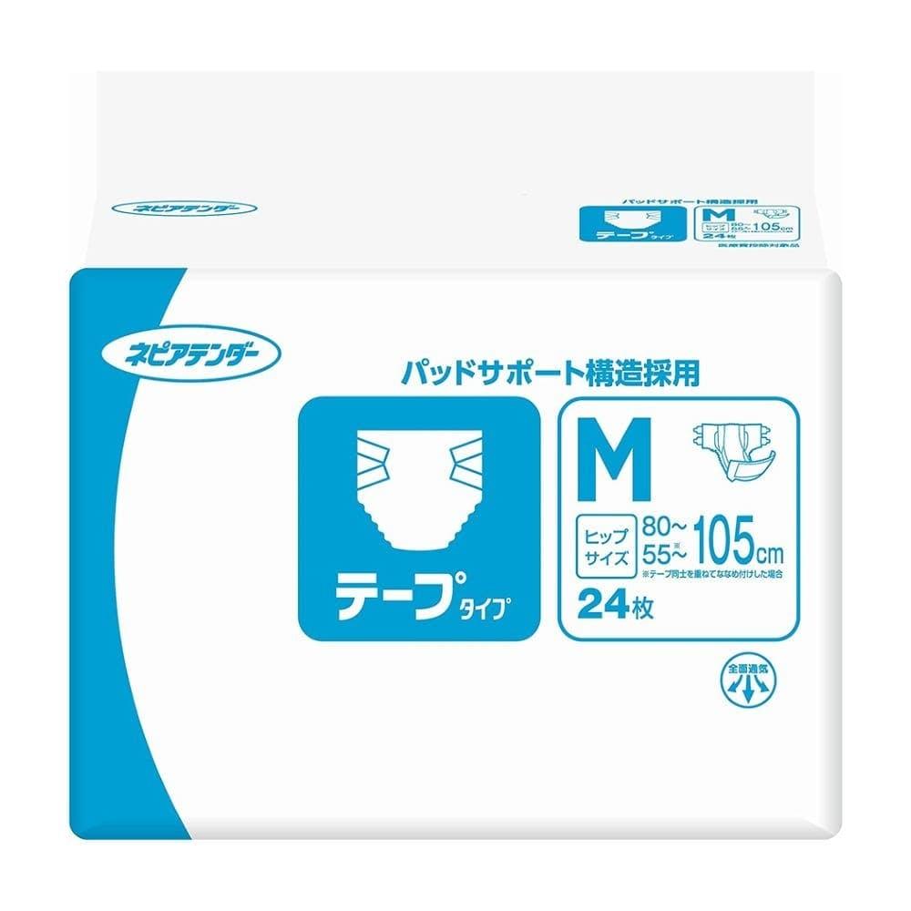 ネピアテンダー テープタイプ M 24枚, , product