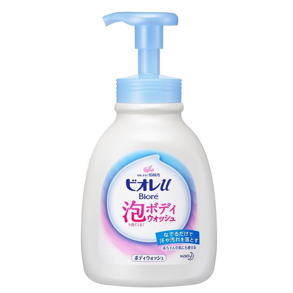 花王 ビオレu 泡で出てくるボディウォッシュ やさしいフレッシュフローラルの香り(微香性) 本体 600ml, , product