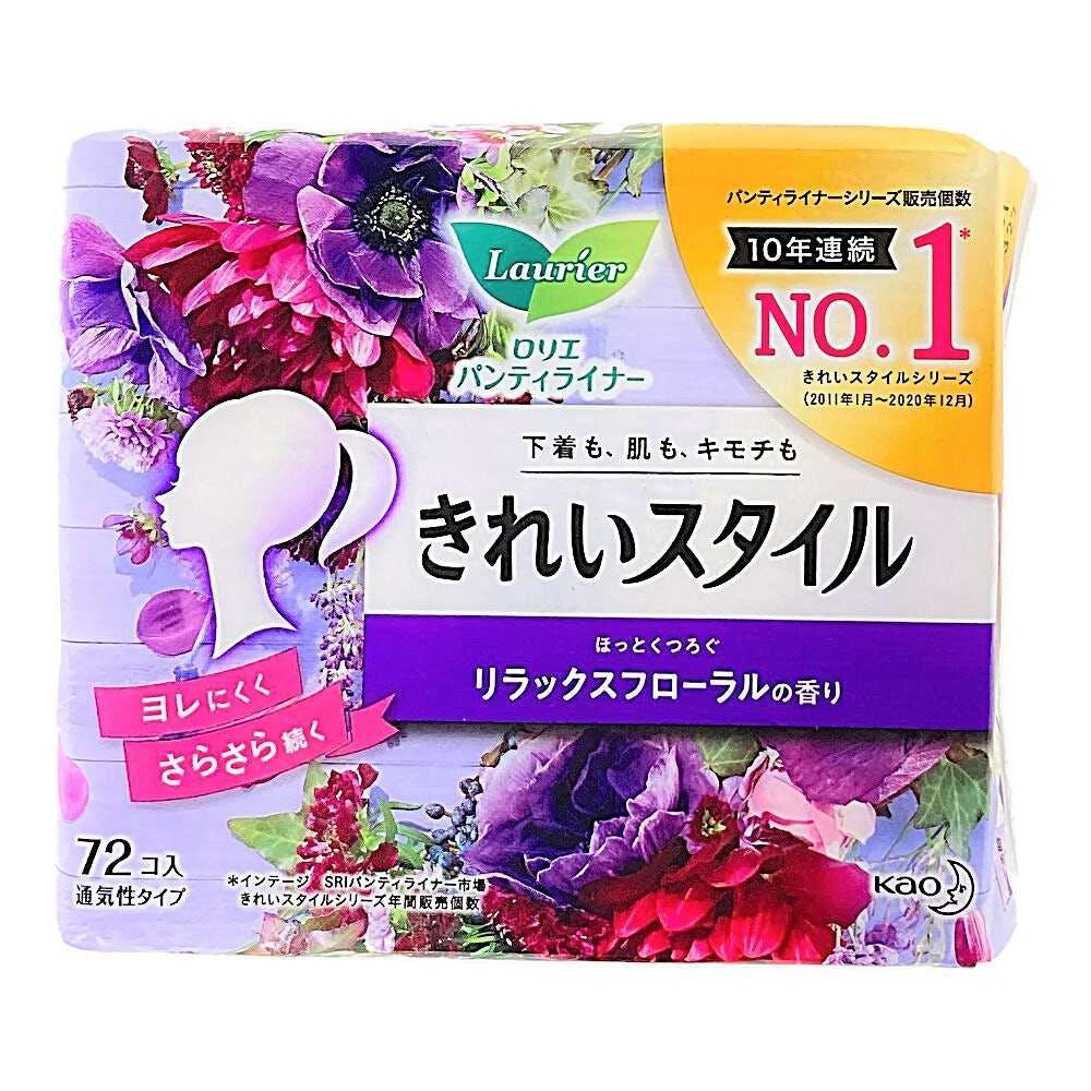 花王 ロリエ パンティライナー きれいスタイル リラックスフローラルの香り 72個, , product