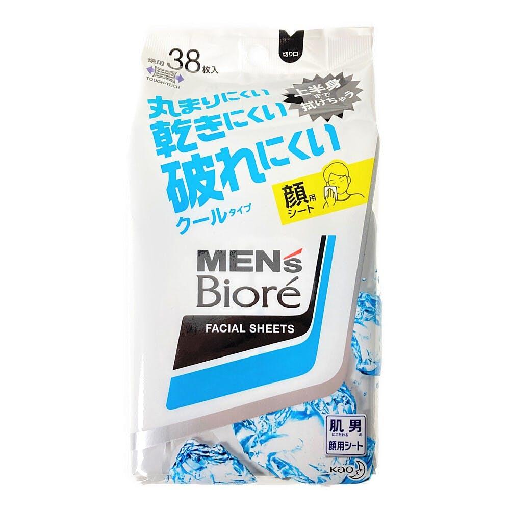 花王 メンズビオレ 洗顔シート クールタイプ 卓上用 38枚入, , product