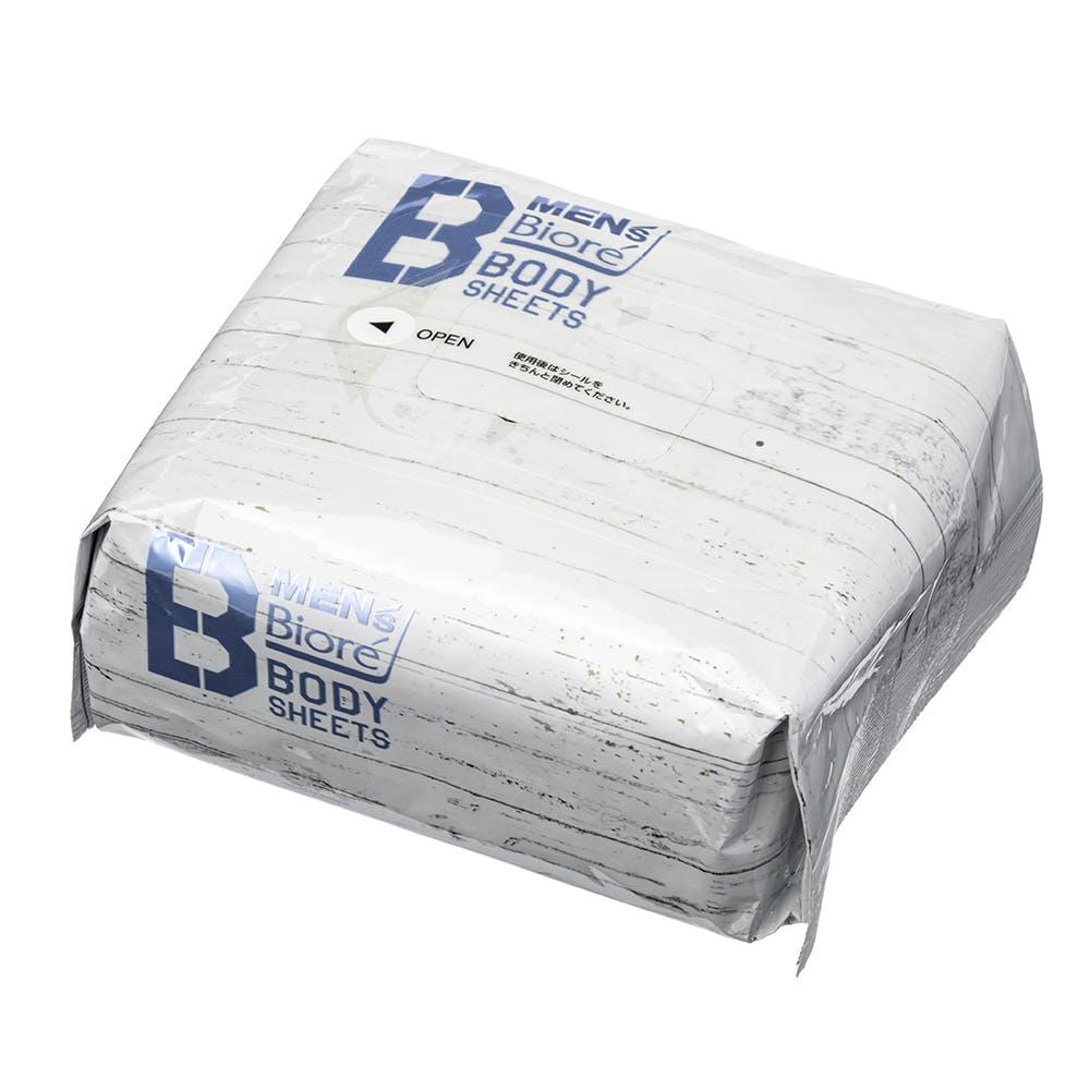 【数量限定】花王 メンズビオレ ボディシート 清潔感のある石けんの香り 限定デザイン 84枚(28枚×3個セット), , product
