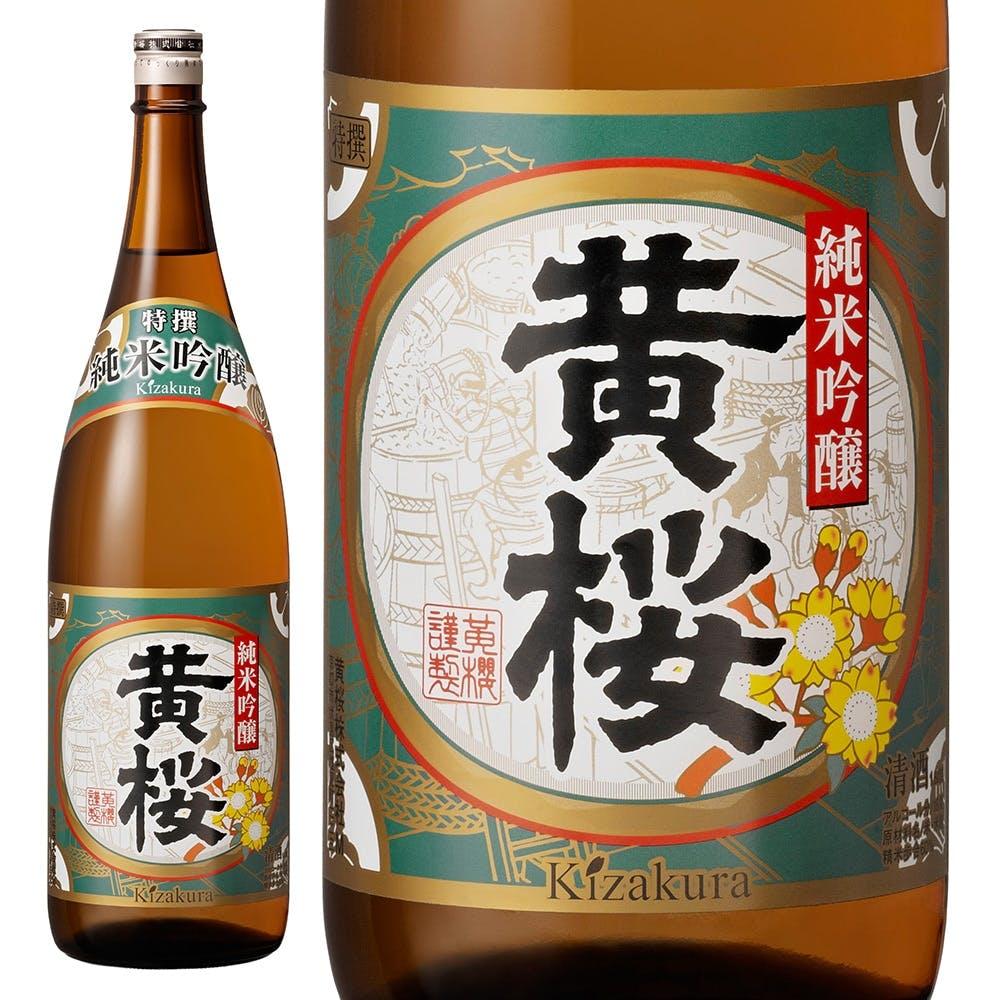 黄桜 特撰 純米吟醸 1800ml, , product
