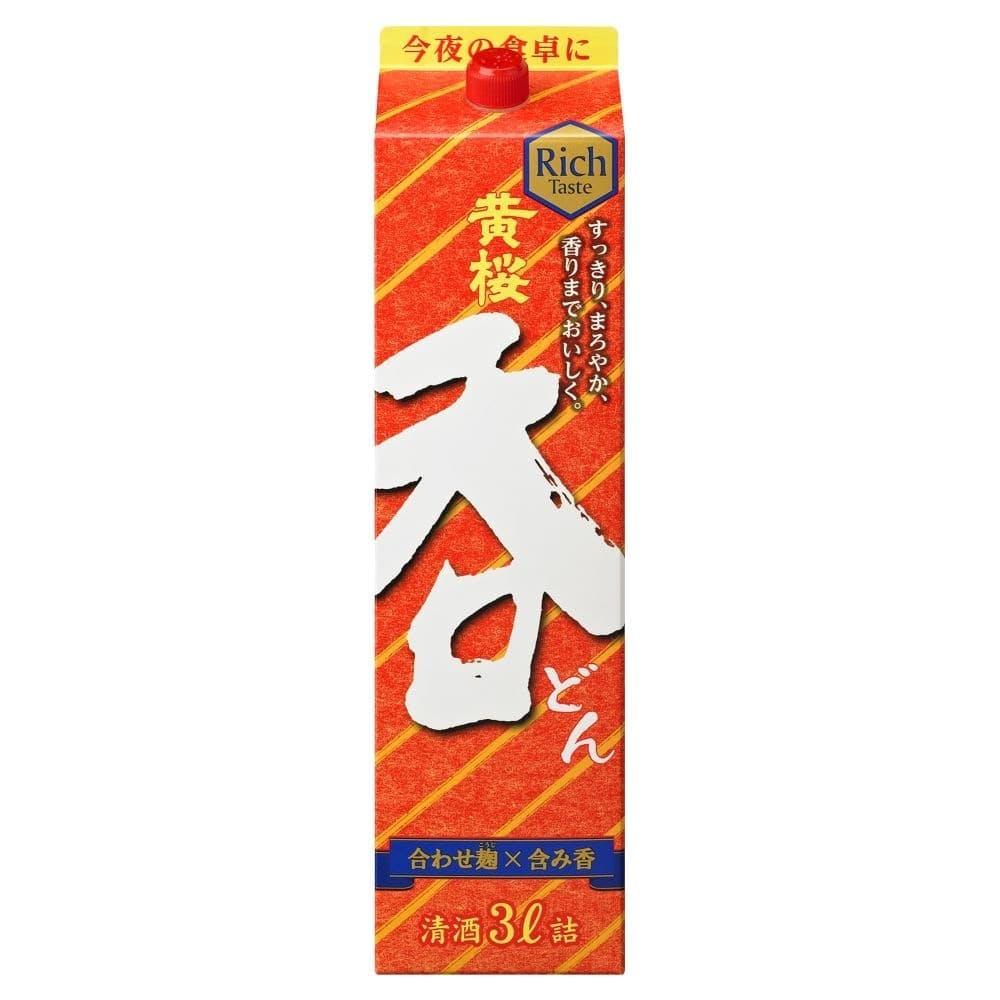 黄桜 呑 パック 3000ml【別送品】, , product