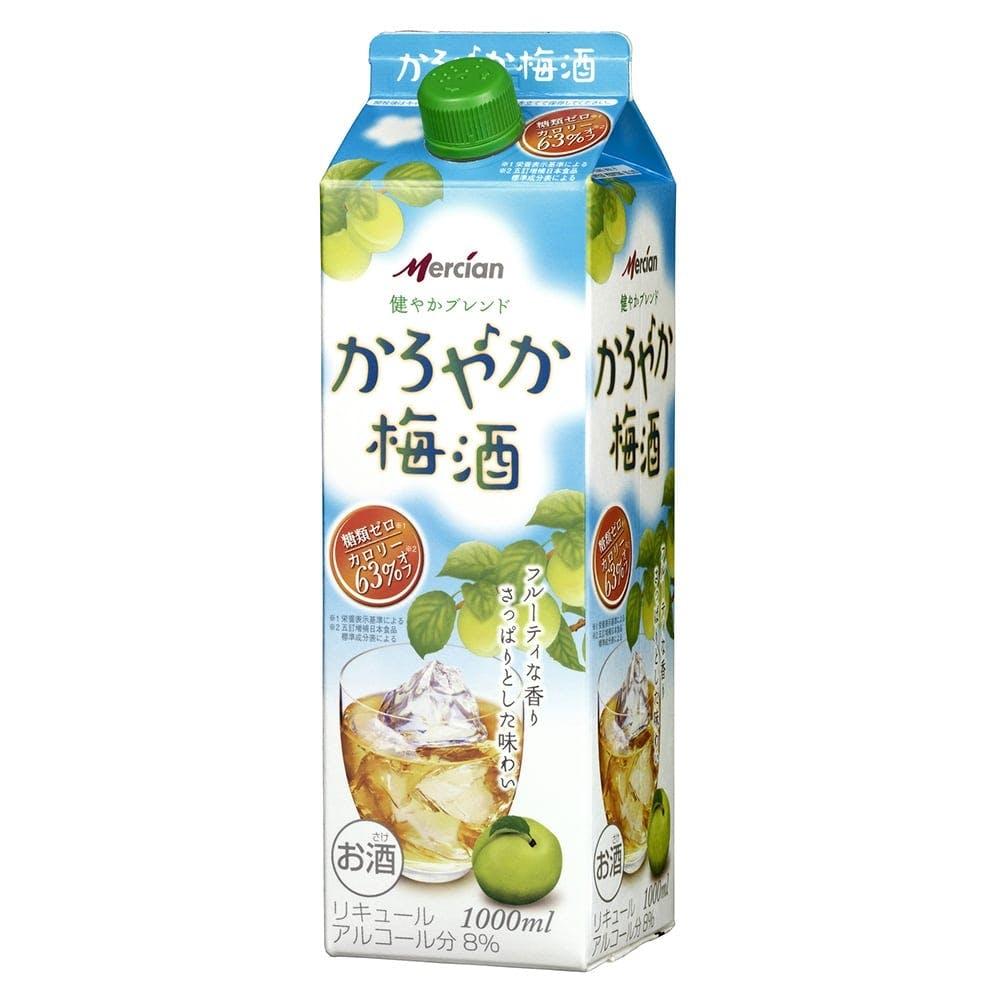 メルシャン かろやか梅酒 1000ml パック【別送品】, , product