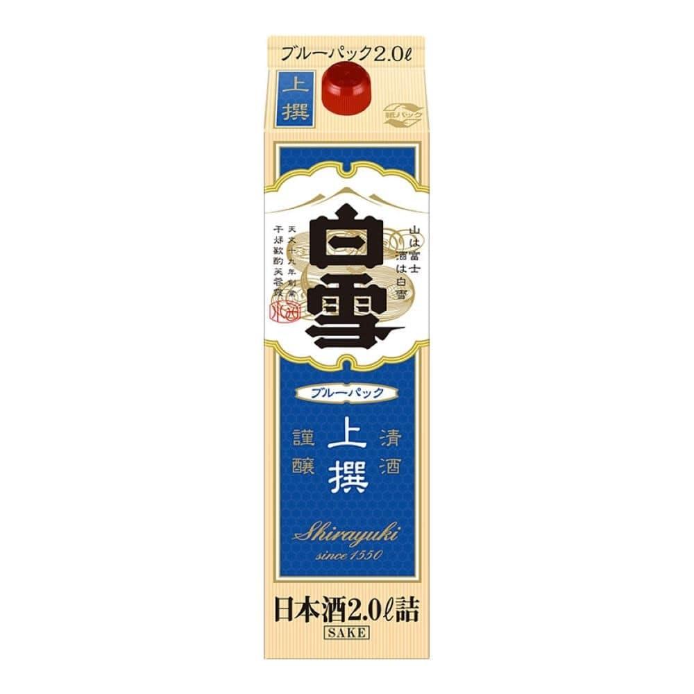 白雪 上撰 ブルーパック 2000ml【別送品】, , product