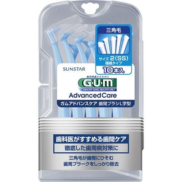 サンスター ガム歯周プロケア 歯間ブラシL字型 SS 10本, , product