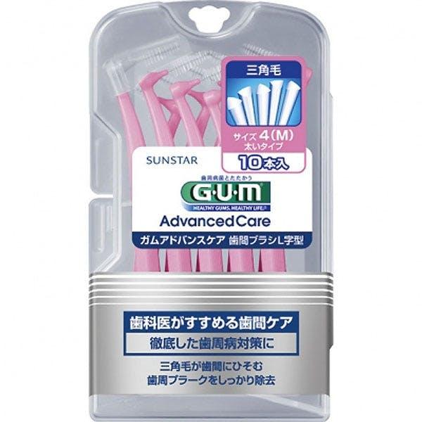 サンスター ガム歯周プロケア 歯間ブラシL字型 M 10本, , product