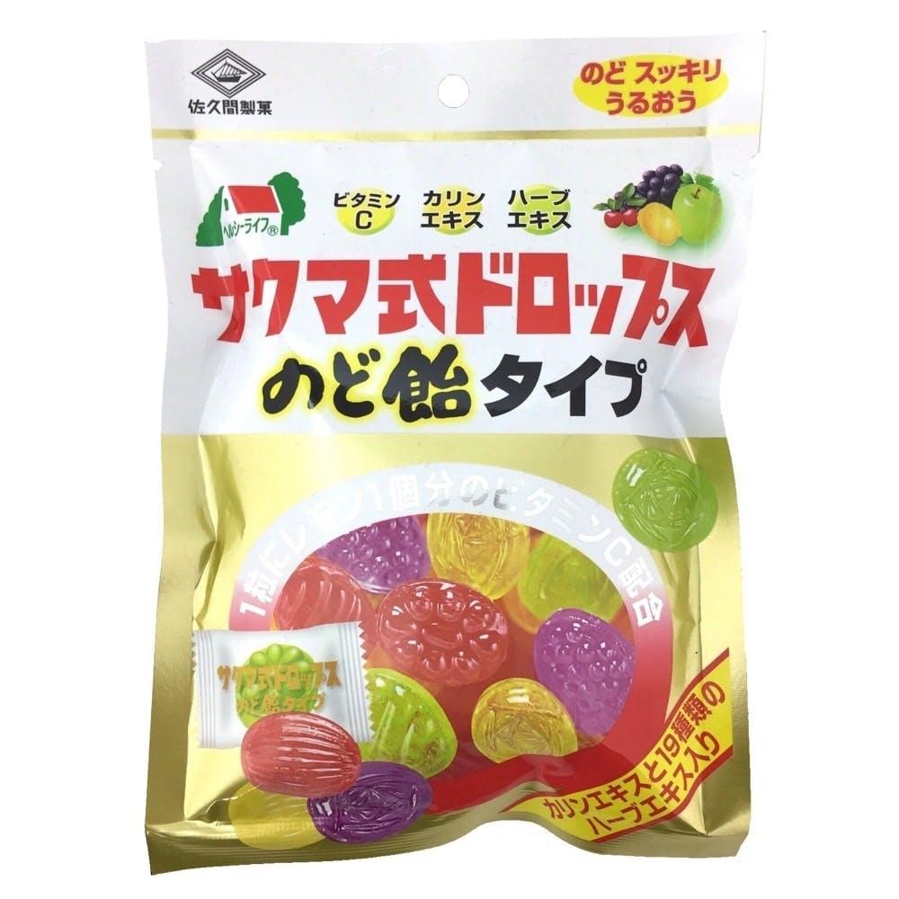佐久間製菓 ビタミンドロップのど飴タイプ 90g, , product
