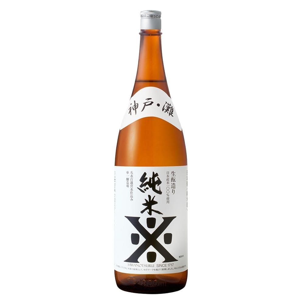 沢の鶴 純米 1800ml, , product