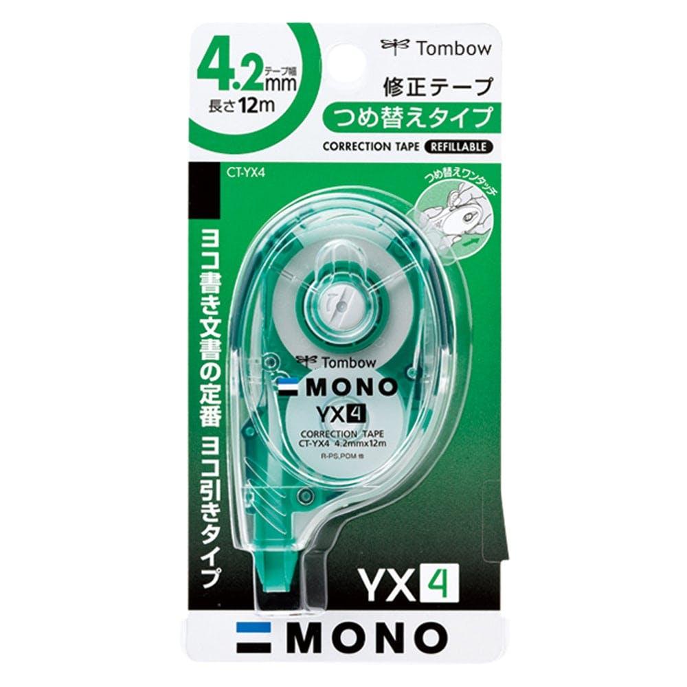 トンボ 修正テープ モノYX 4mm, , product
