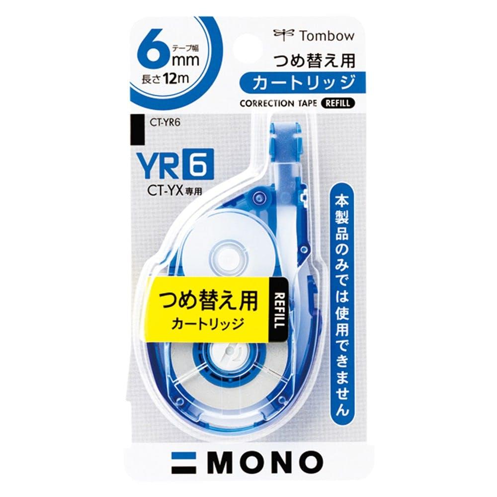 トンボ 修正テープ つめ替えカートリッジ 6CT-Y, , product