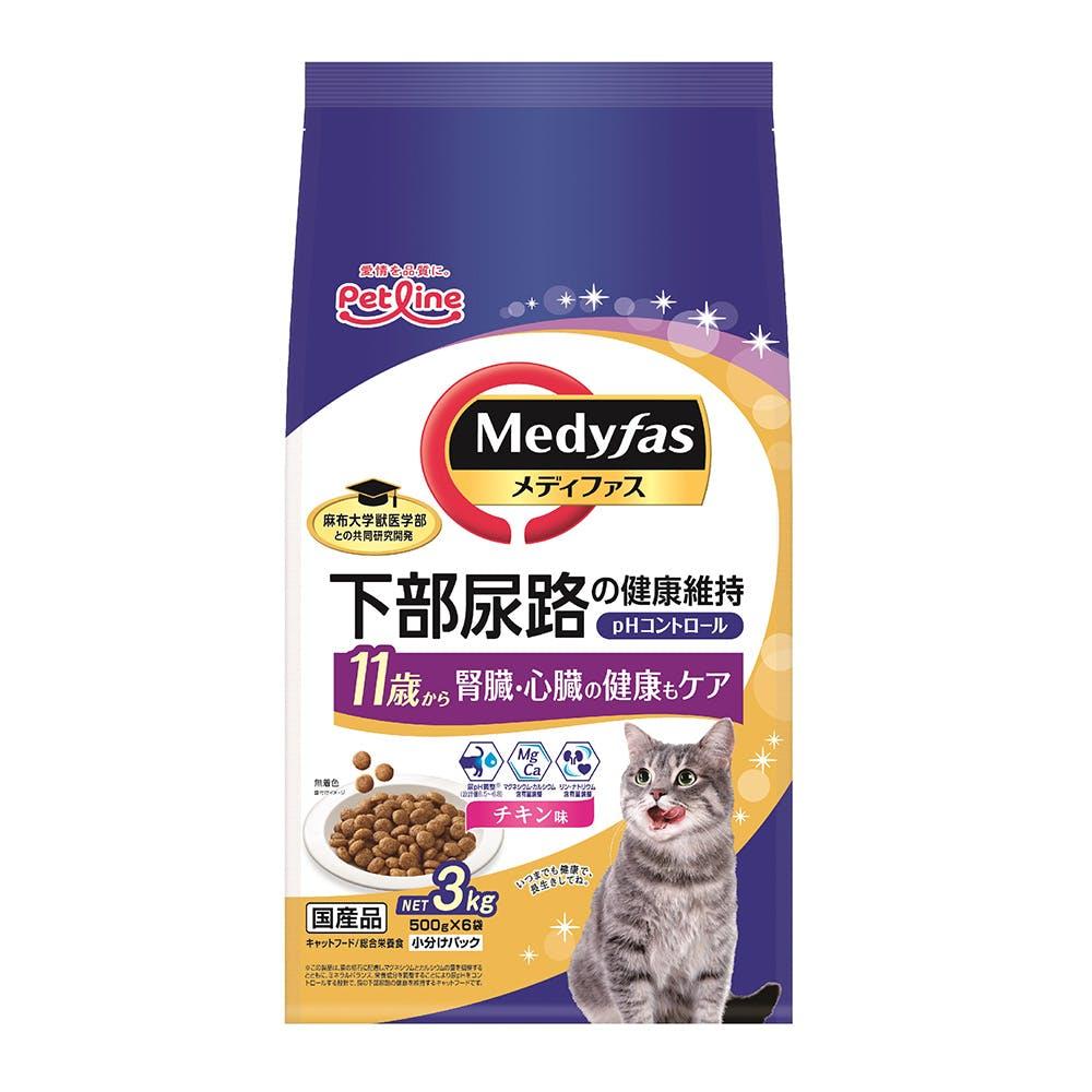 メディファス 11歳から チキン味 3kg, , product
