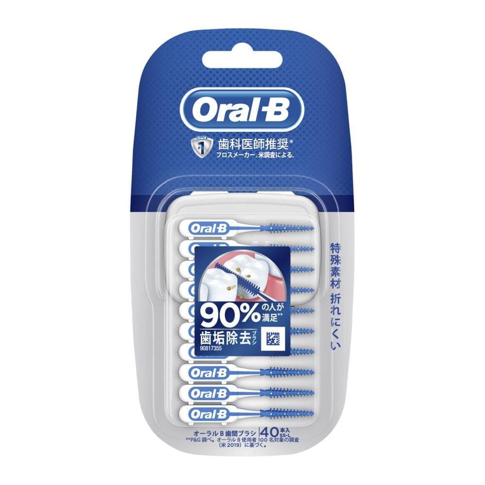 P&G オーラルB 歯間ブラシ 40本入, , product
