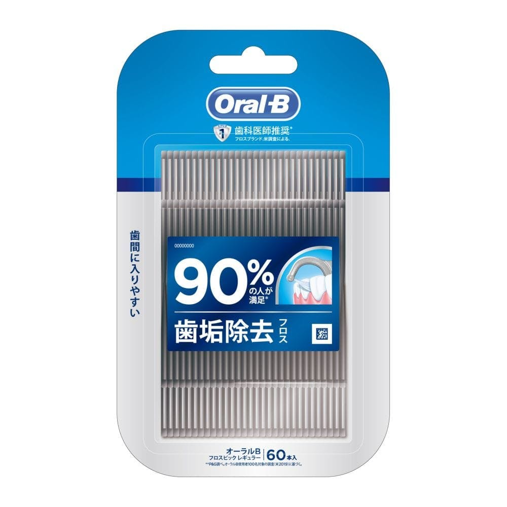 P&G オーラルB フロスピック ディープクリーン 60本入, , product