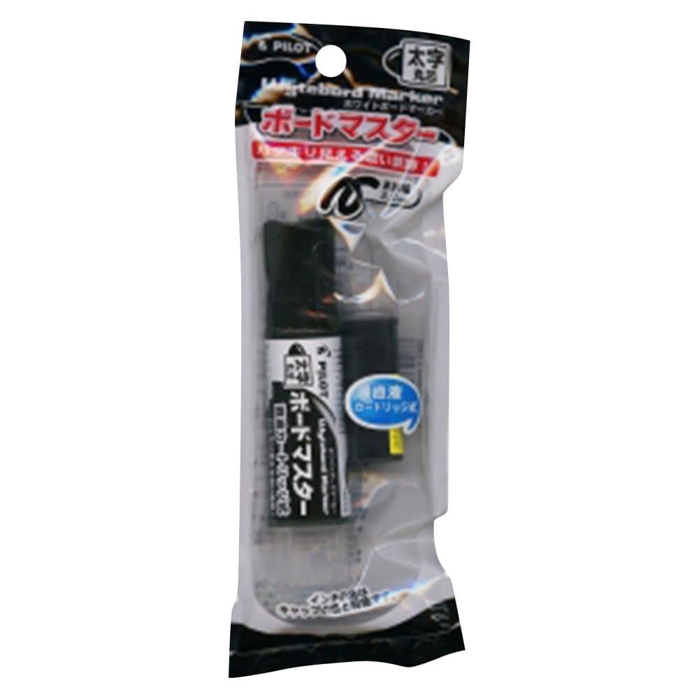 ボードマスター 太字丸芯 パック 黒, , product