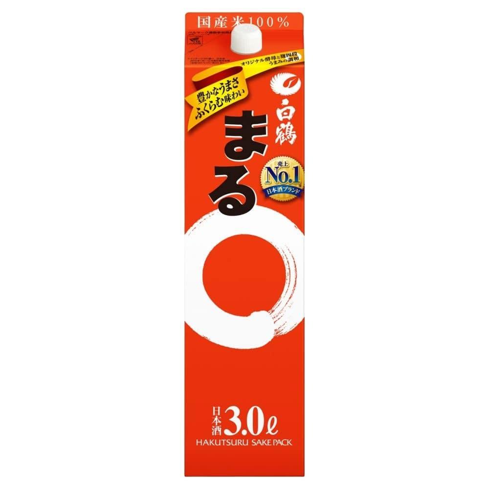 白鶴 サケパック まる 3000ml【別送品】, , product