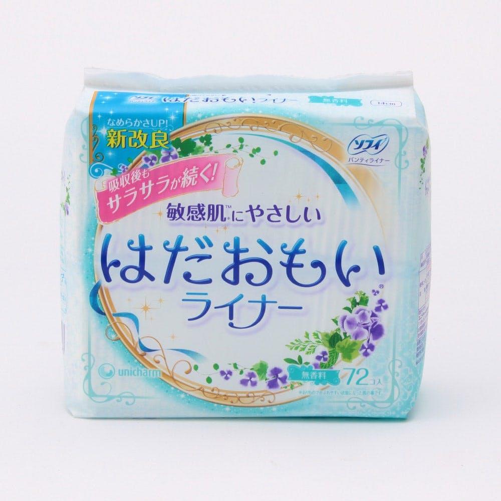 ユニ・チャーム ソフィ はだおもいライナ-無香料72枚, , product
