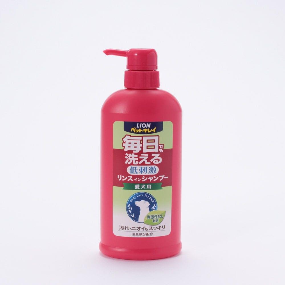 ペットキレイ 毎日でも洗える 低刺激 リンスインシャンプー 愛犬用 ポンプ, , product