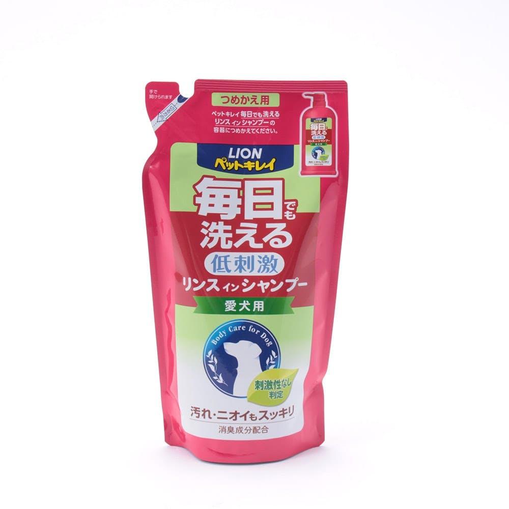 ペットキレイ 毎日でも洗える 低刺激 リンスインシャンプー 愛犬用 つめかえ用, , product