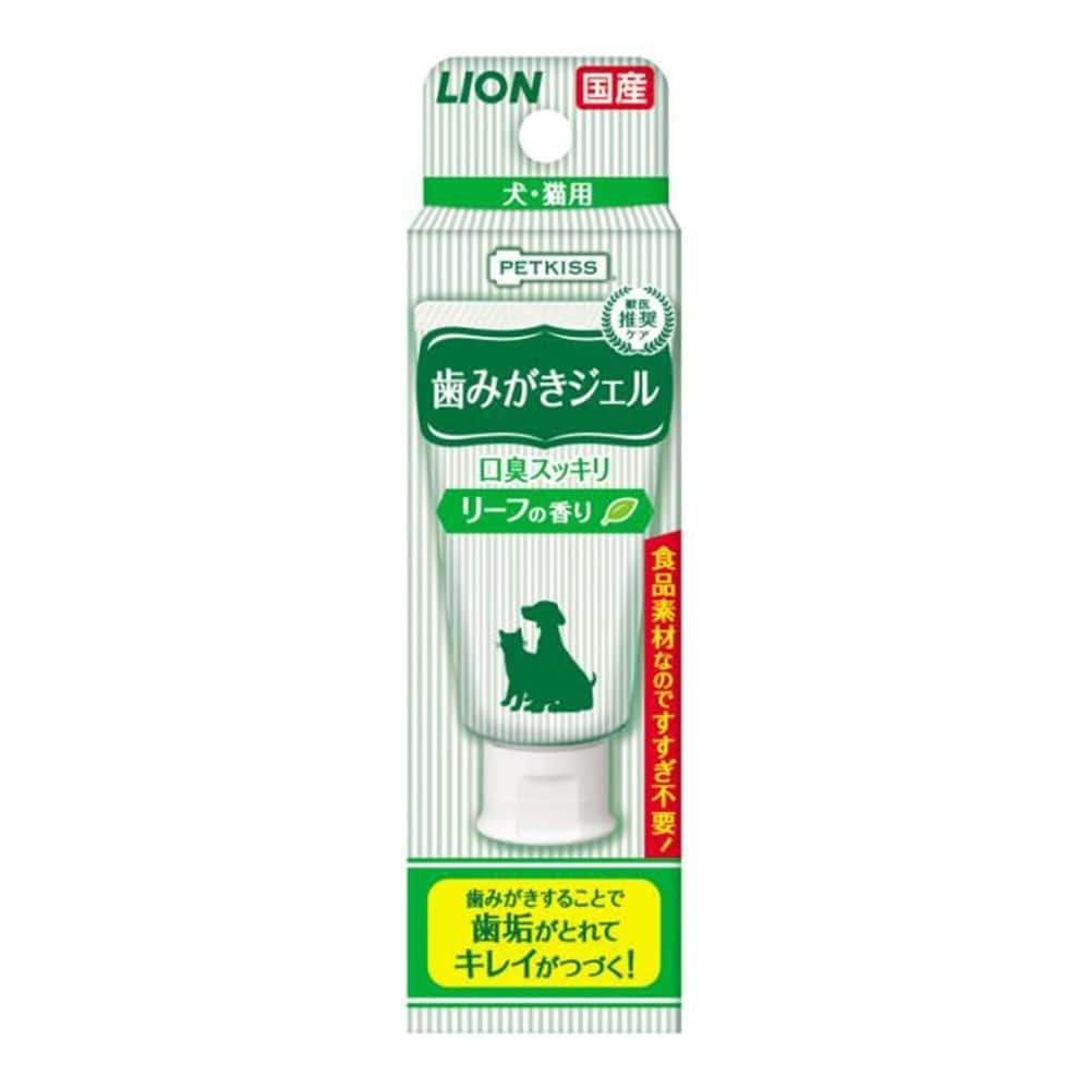 PETKISS 歯みがきジェル リーフの香り, , product