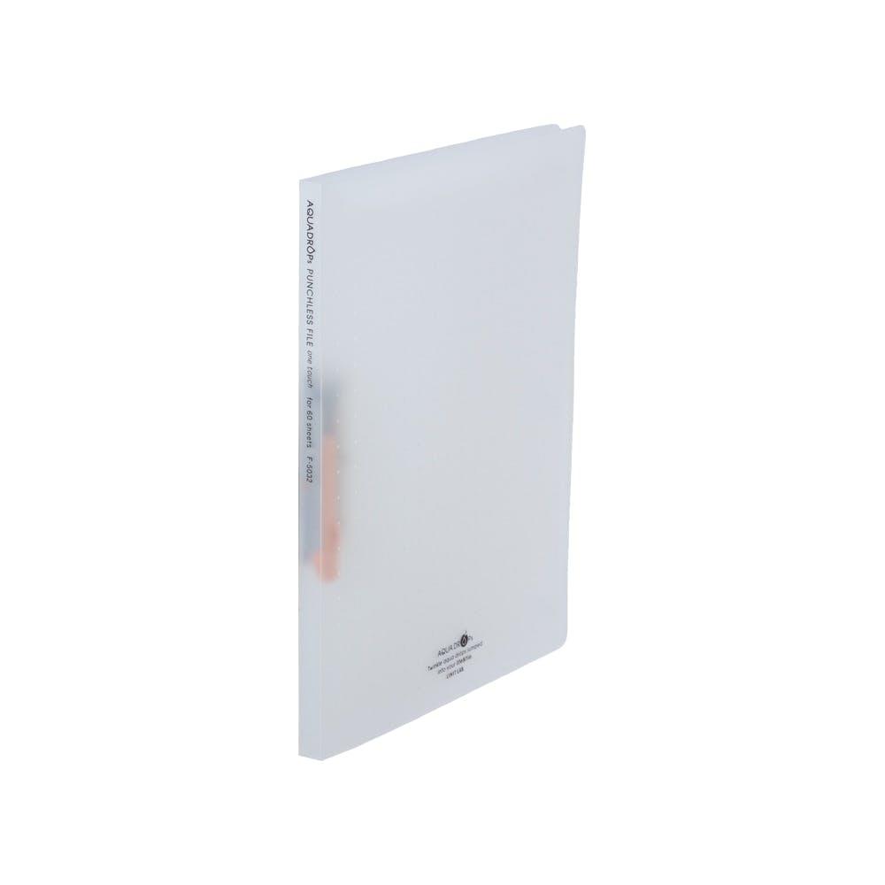 リヒト AQUAパンチレスファイルA4 乳白, , product