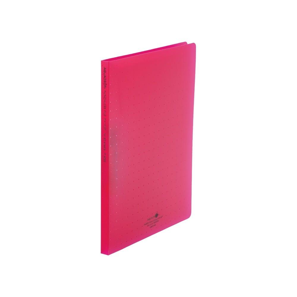 リヒト AQUAパンチレスファイルA4 赤, , product