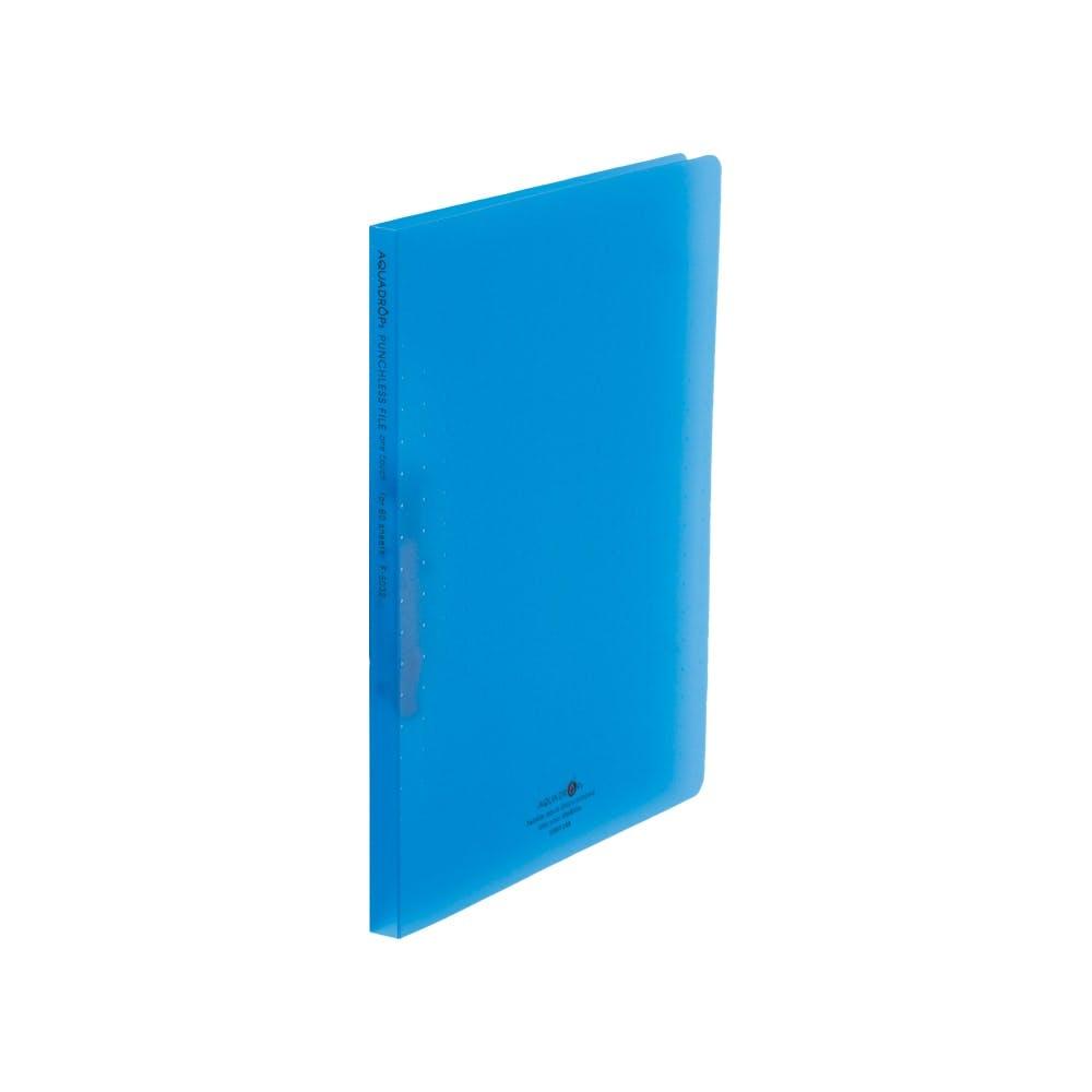 リヒト AQUAパンチレスファイルA4 青, , product