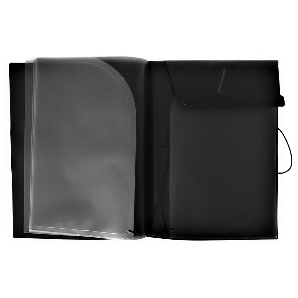 リヒト キヤリングポケツトA4 黒 F7528, , product