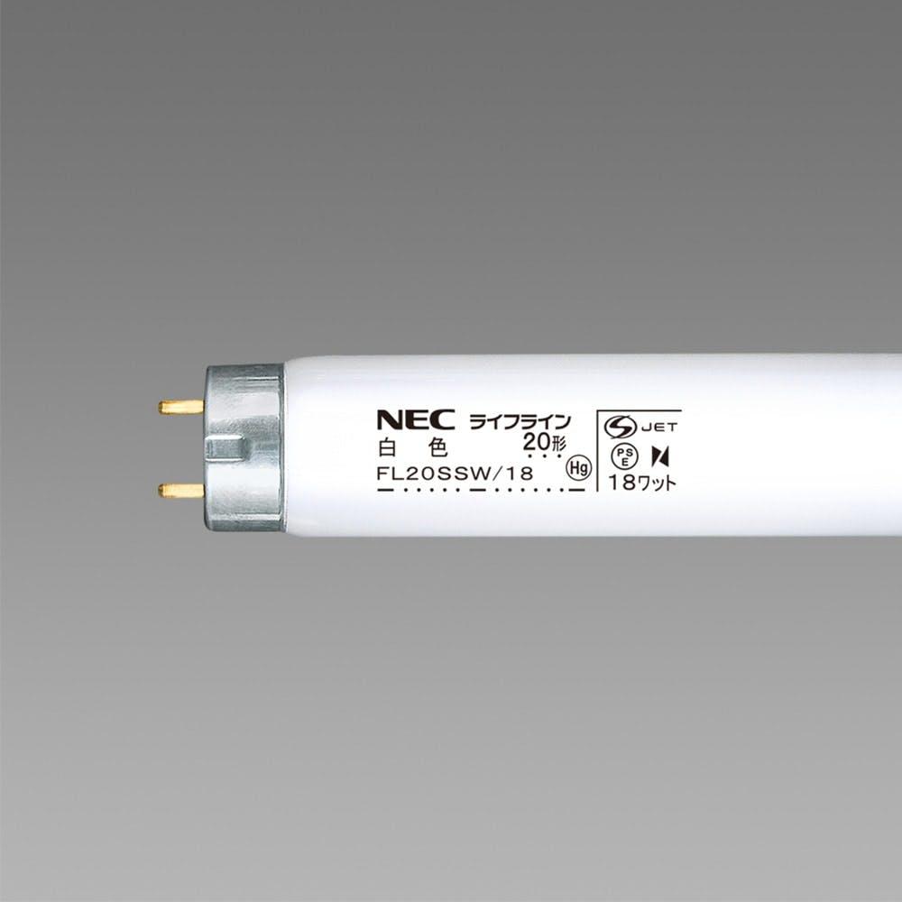 NEC 直管 白色20W FL20SSW/18, , product