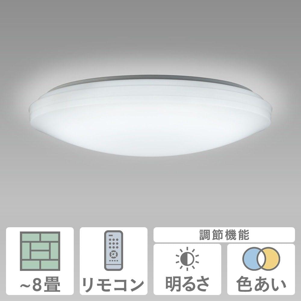 NEC LEDシーリングライト ~8畳 HLDC08208, , product