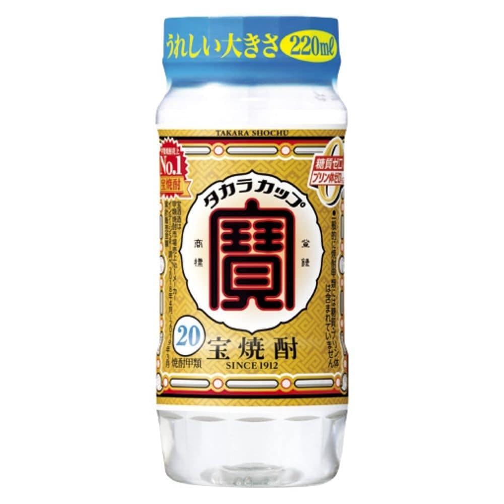 宝焼酎 20度 タカラカップ 220ml【別送品】, , product
