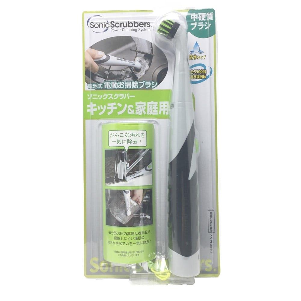 ソニックスクラバー キッチン&家庭用 電動お掃除ブラシ, , product