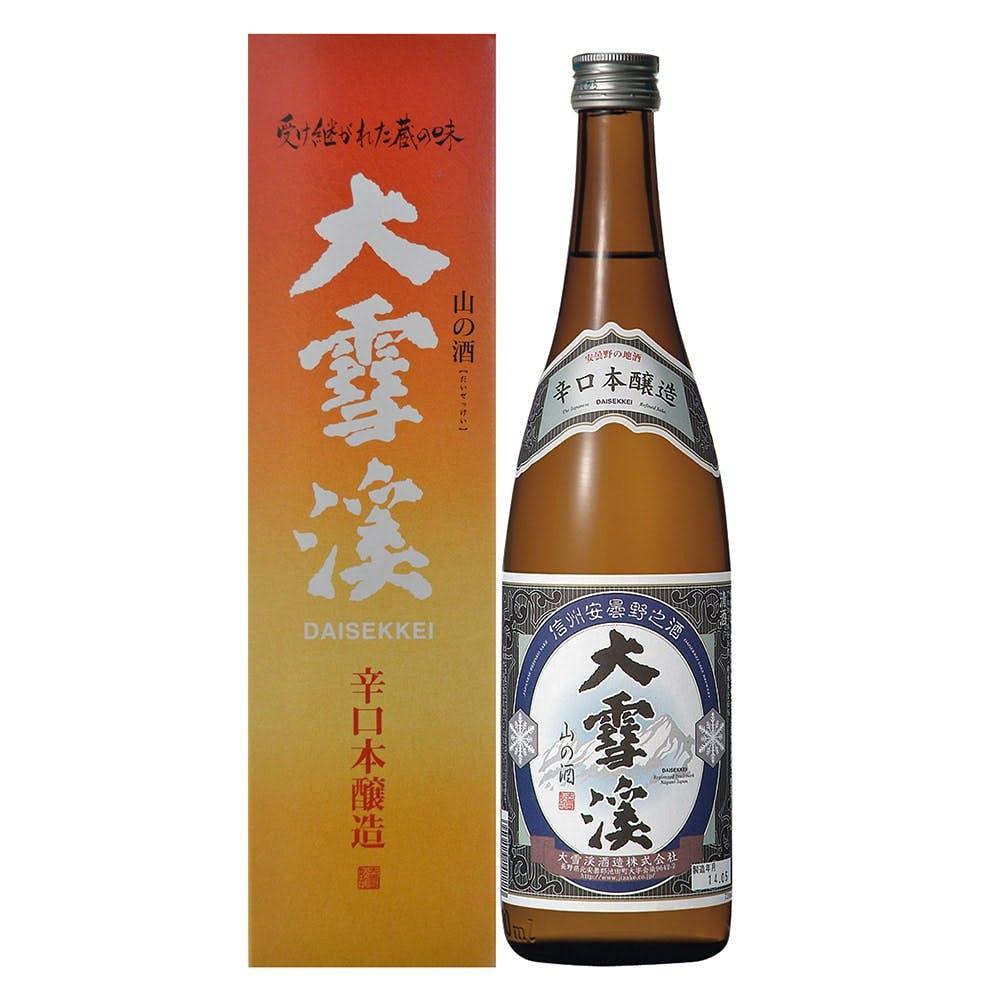 大雪渓 辛口本醸造 720ml, , product