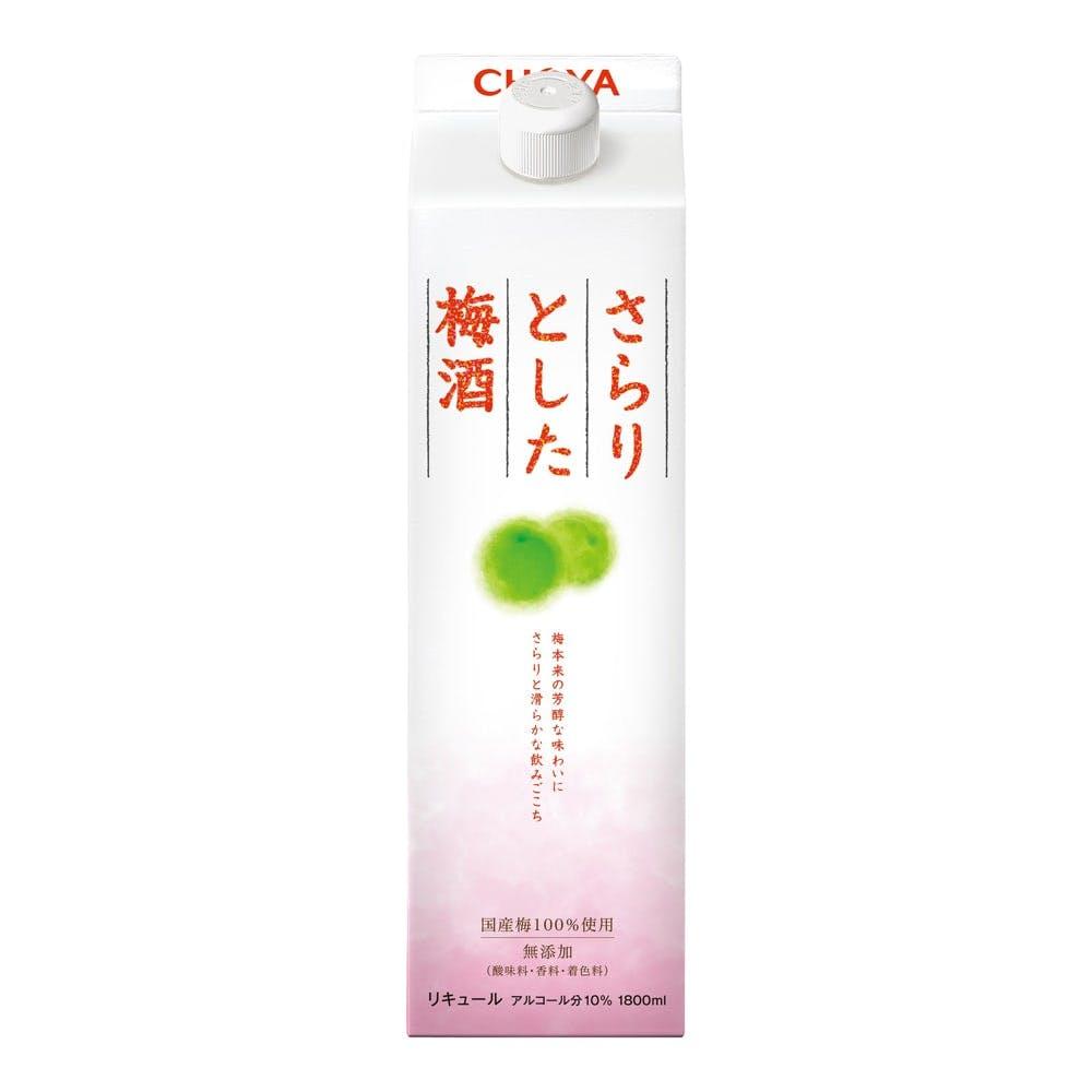 チョーヤ さらりとした梅酒 1800ml【別送品】, , product