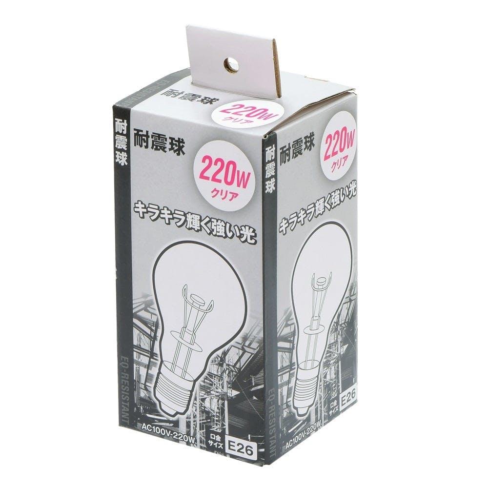 EM 耐震球クリア 220W, , product