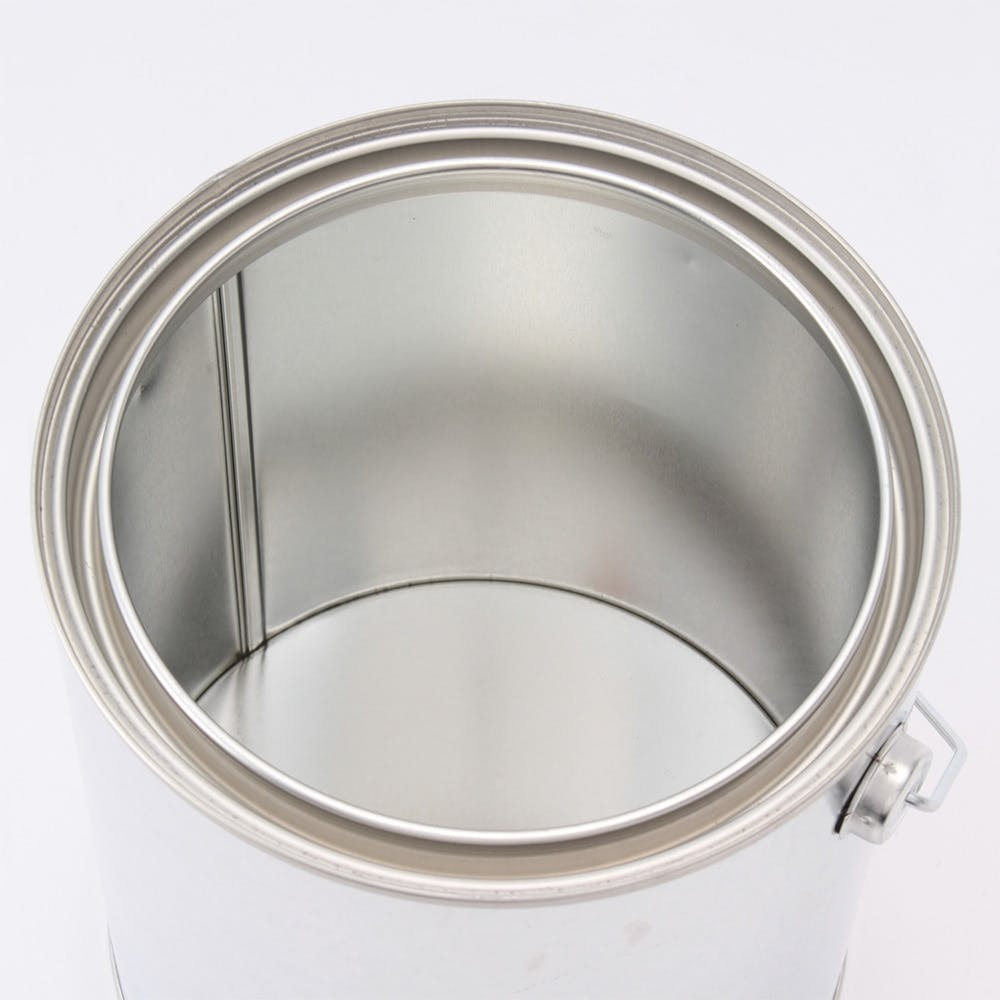 フタ付 丸缶 2L(取っ手付), , product