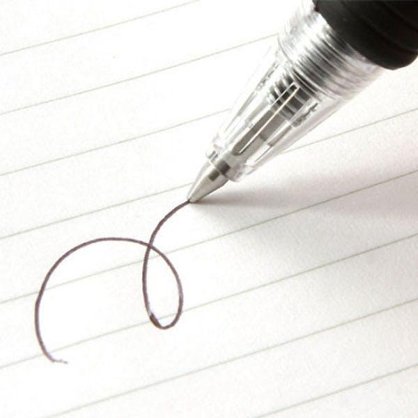 ノック式ボールペン 黒 10本入(NB-10BK), , product