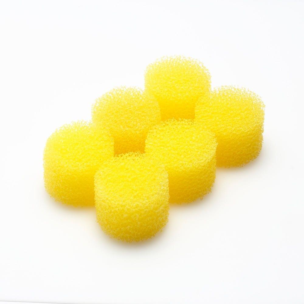 洗面排水口用スポンジ 6個入り SHS-3530GY, , product