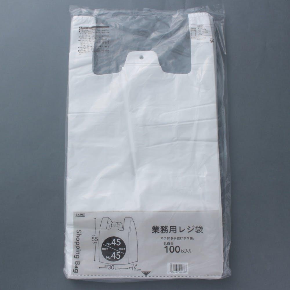 業務用レジ袋 No.45 100枚, , product