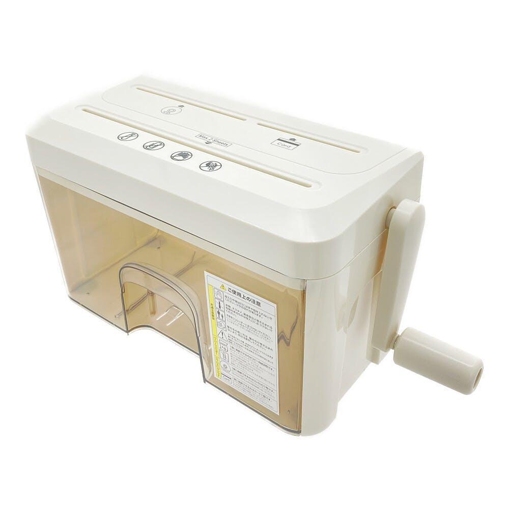 軽く回せる マイクロカットハンドシュレッダー, , product