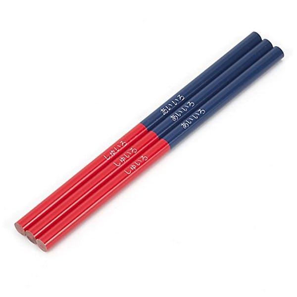 朱藍鉛筆 3本入り, , product