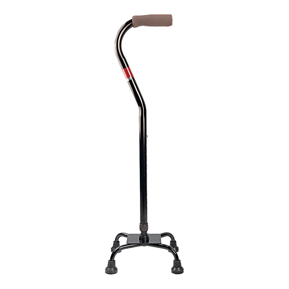 CAINZ アルミ製4点杖 ブラウン, , product