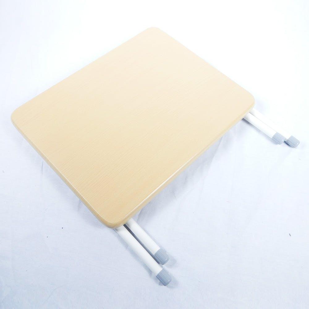 A5 折りたたみ式ミニテーブル ロータイプ ナチュラル, , product