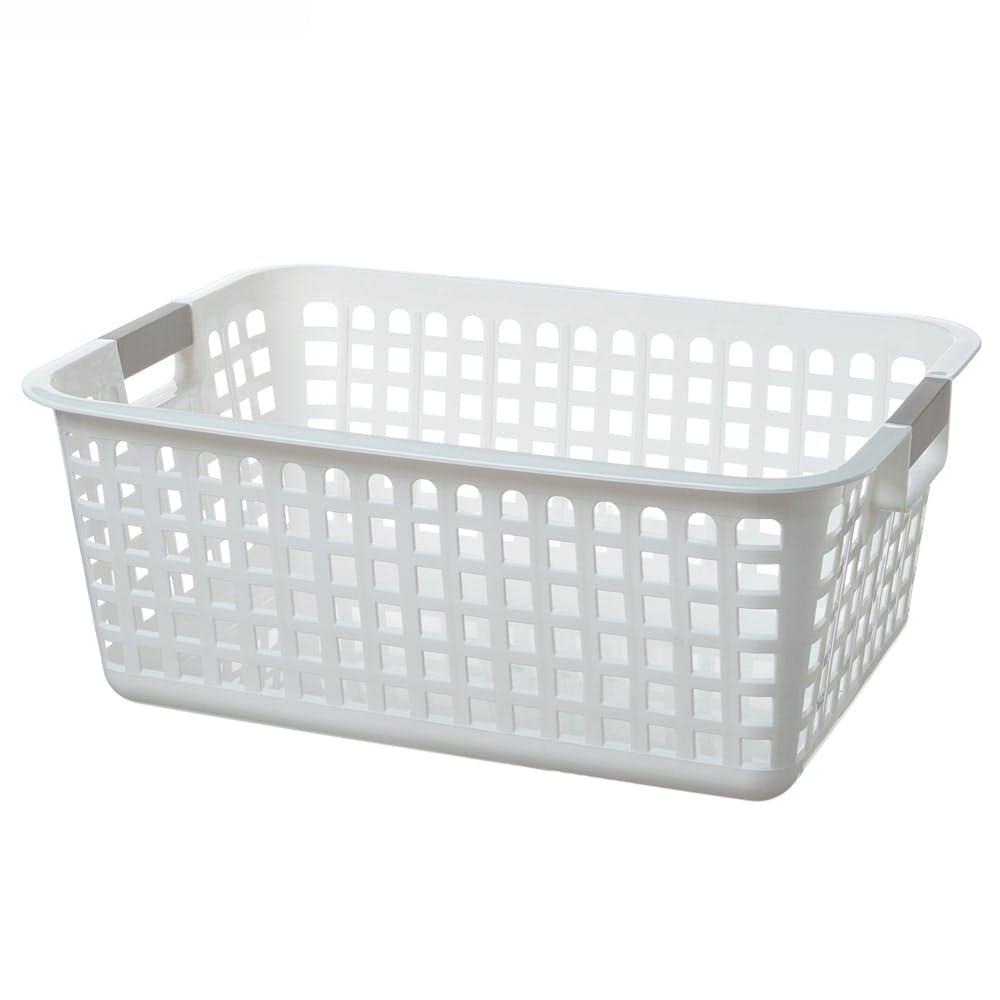 ビッグバスケット M型 ホワイト, , product