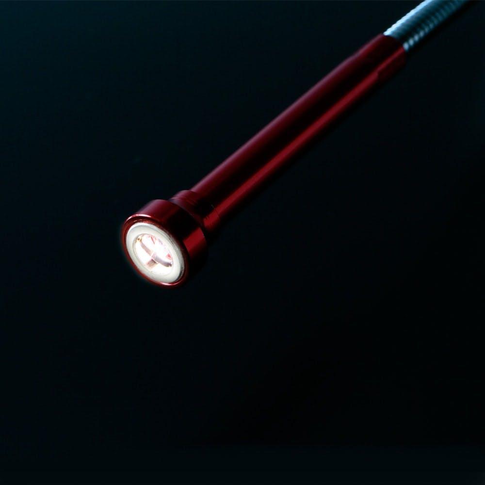 爪付き・LEDピックアップツールフレキ レッド 60cm, , product