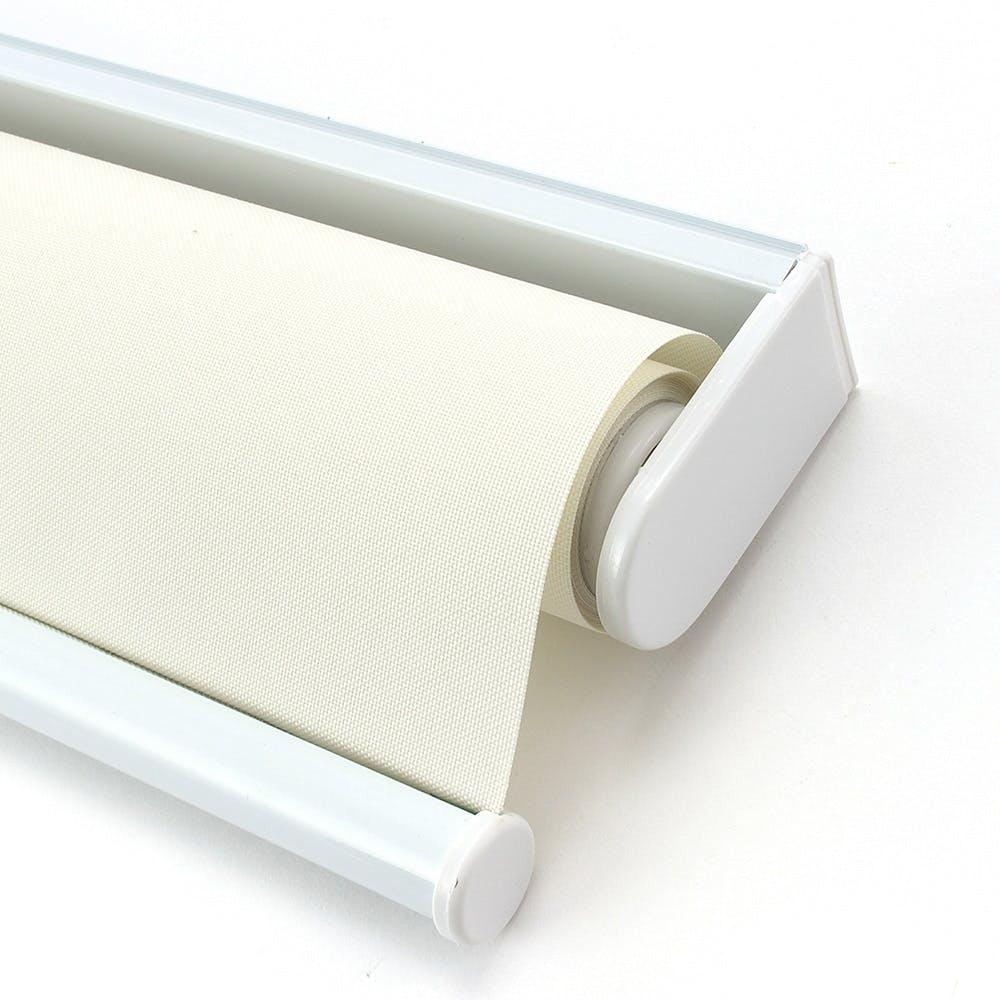プルコード式 ロールスクリーン アイボリー 180×220cm, , product