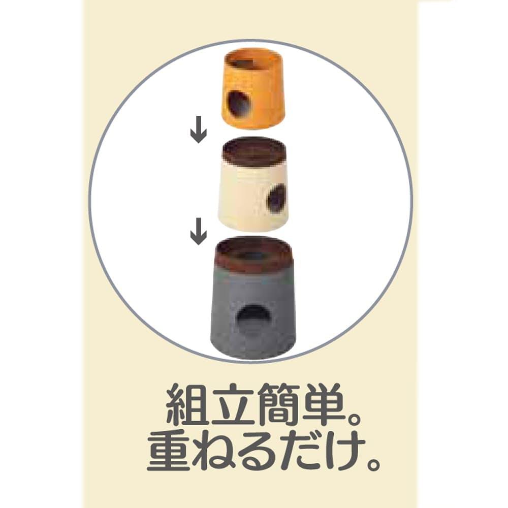 【オンライン限定】キャットインテリアタワー NECOTA セットカーサ オレンジ, , product